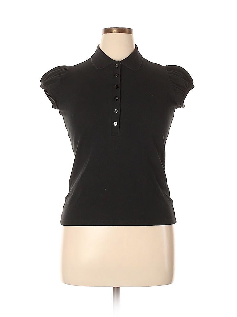Burberry Women Short Sleeve Polo Size L