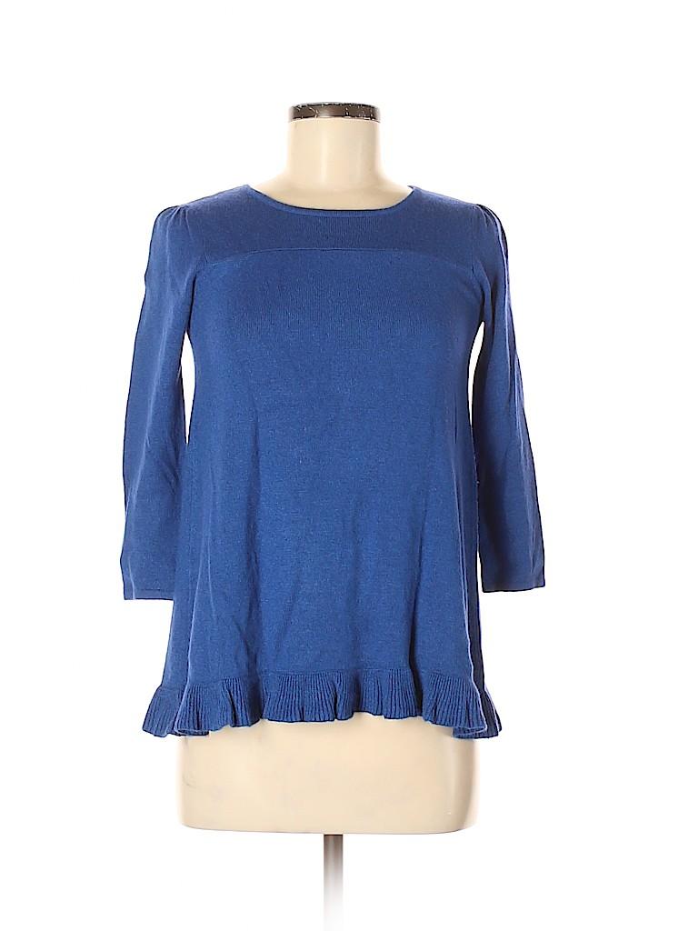 Aqua Women Silk Pullover Sweater Size XS