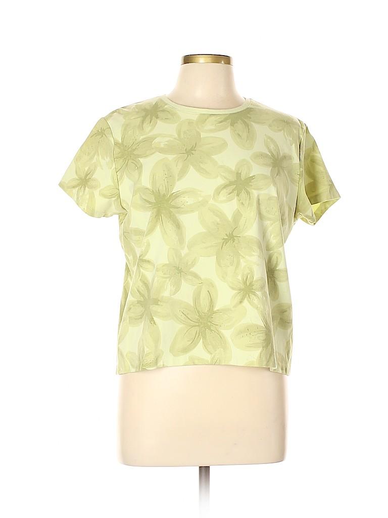 Relativity Women Short Sleeve T-Shirt Size L