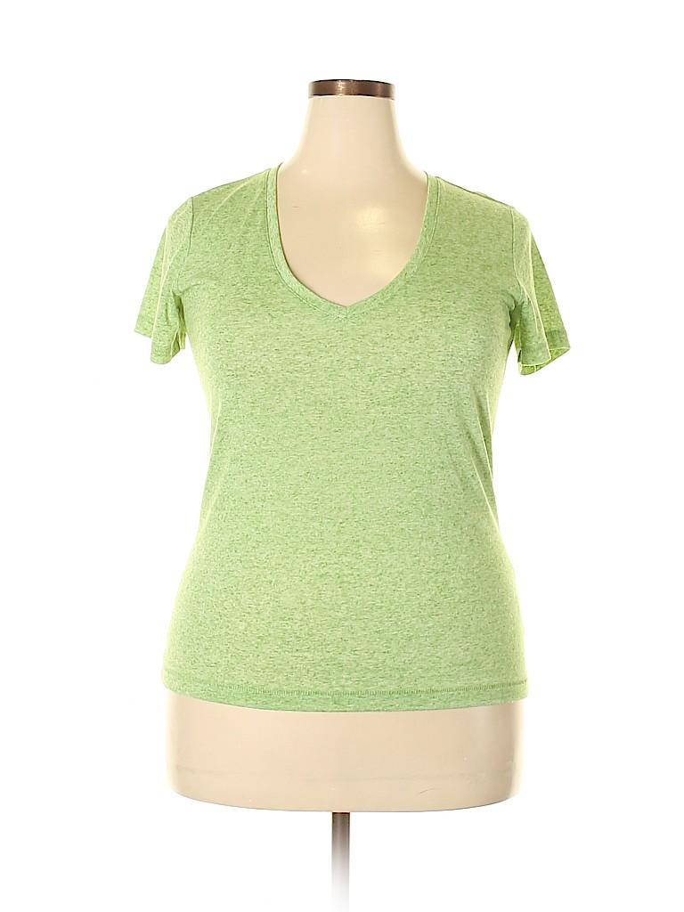 Hi-Line Women Short Sleeve T-Shirt Size L