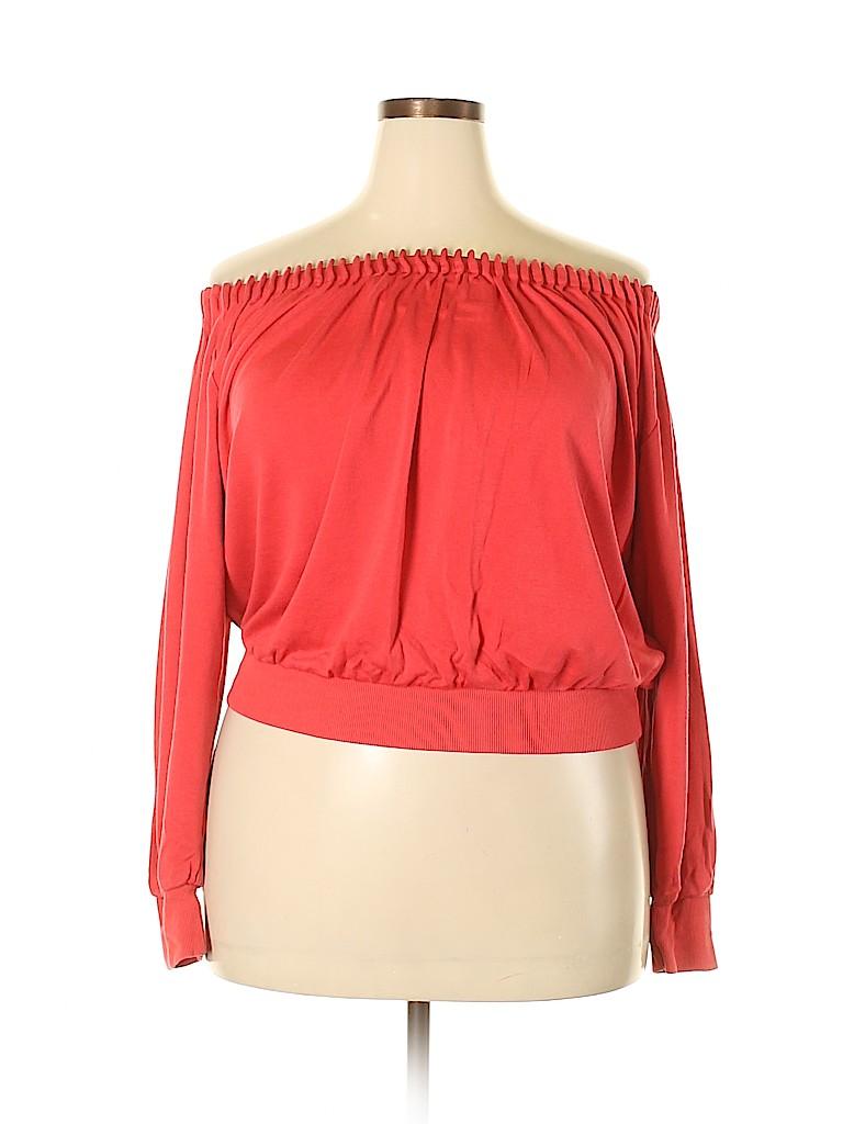 Ellen Tracy Women Silk Pullover Sweater Size XL