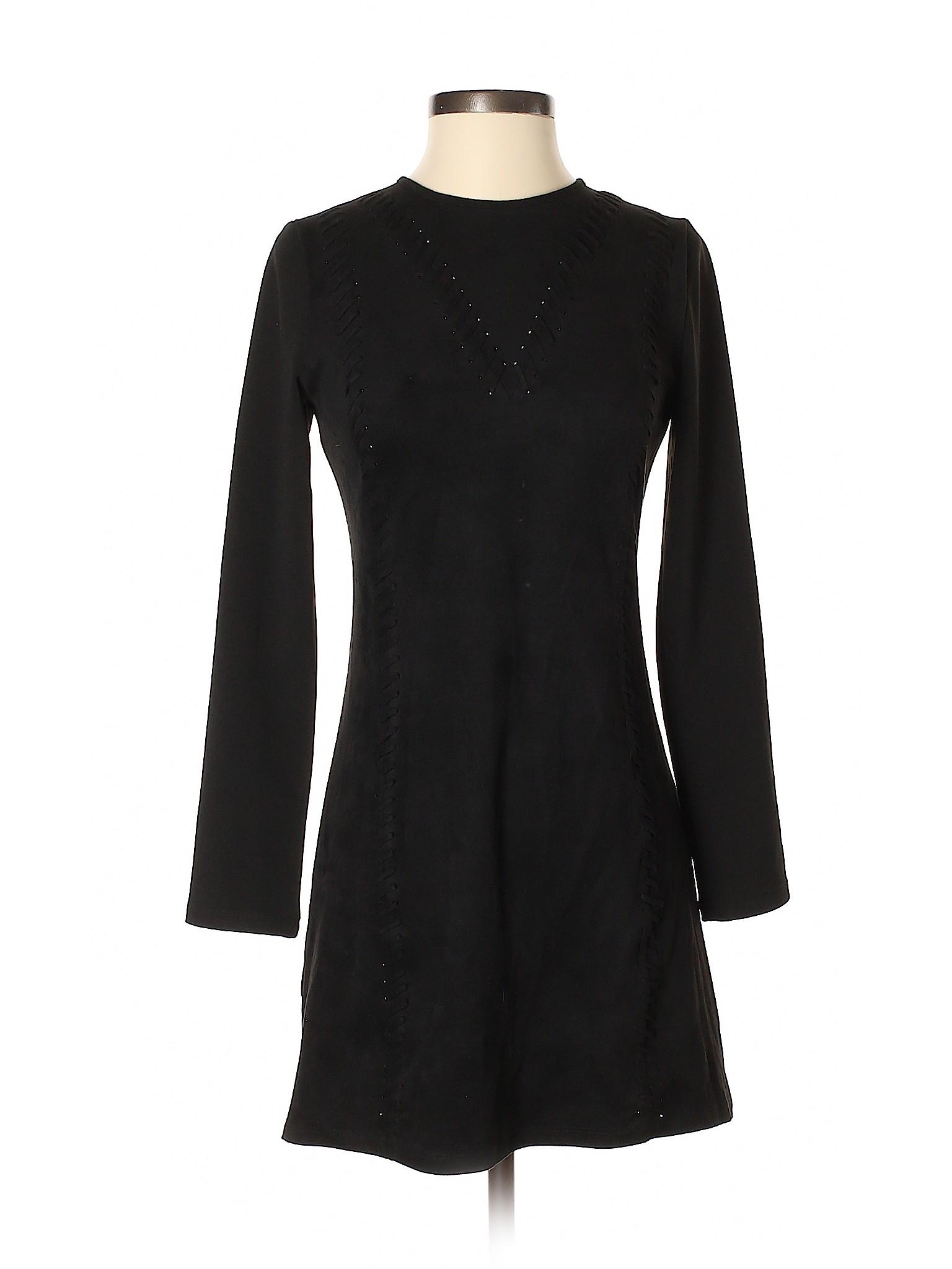 fab87665975 Gianni Bini Women Black Casual Dress Xs