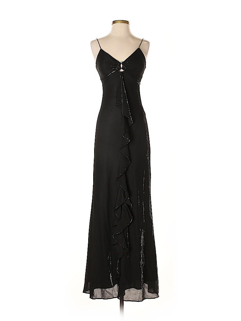 7917ea02190 DressBarn Solid Black Cocktail Dress Size 4 - 53% off