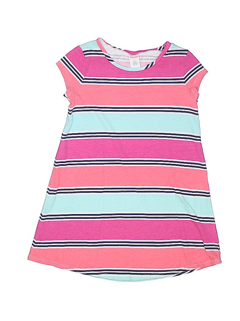 b39b518a6029 Gymboree 100% Cotton Stripes Pink Dress Size 7 - 8 - 68% off | thredUP