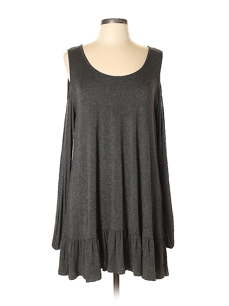 Easel Women Long Sleeve Top Size L