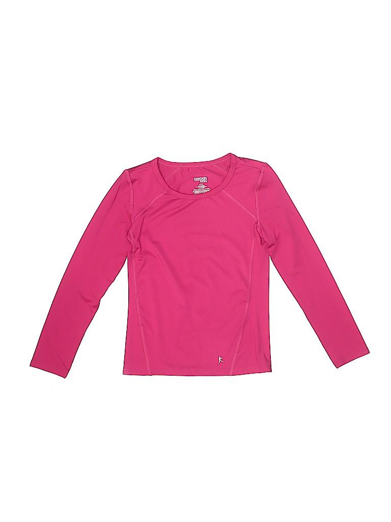 Danskin Girls Active T-Shirt Size M (Youth)