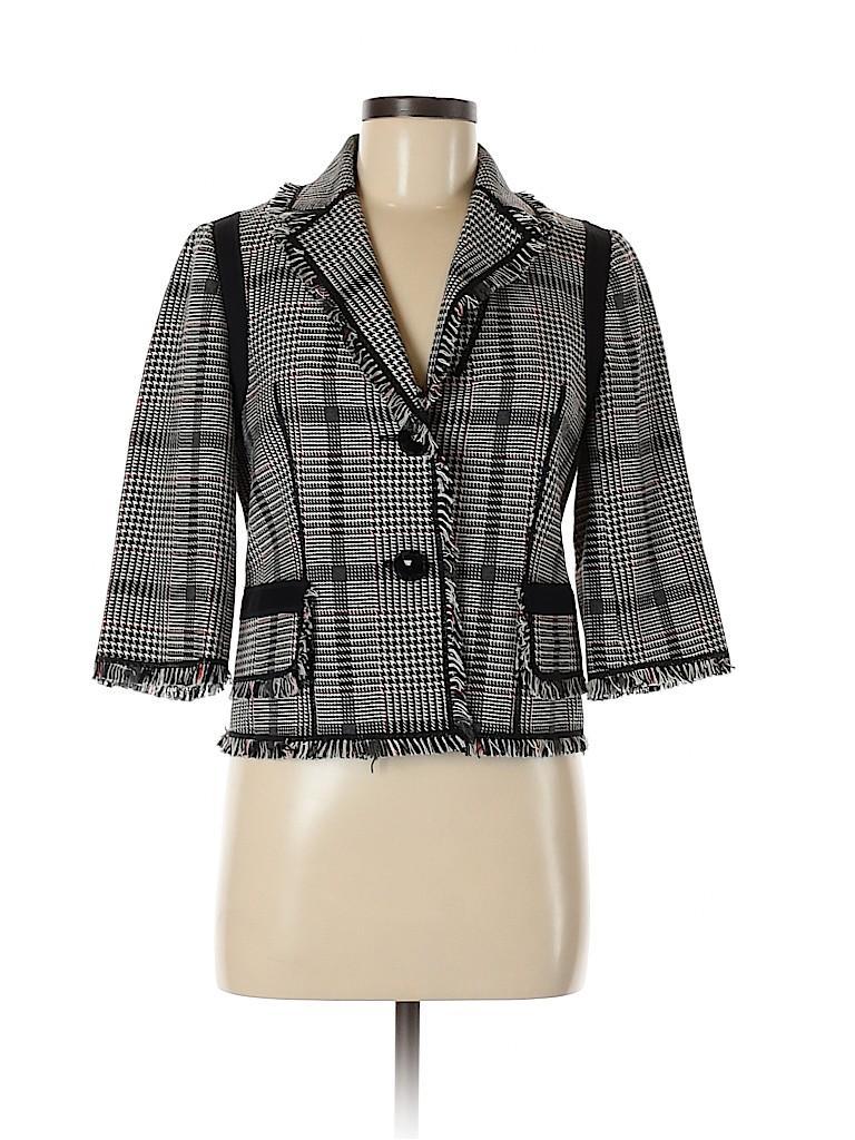 Etcetera Women Wool Blazer Size 4