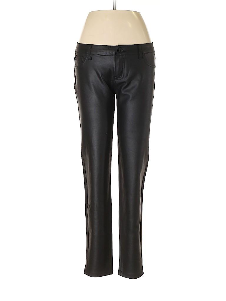 Celebrity Pink Women Faux Leather Pants Size 11