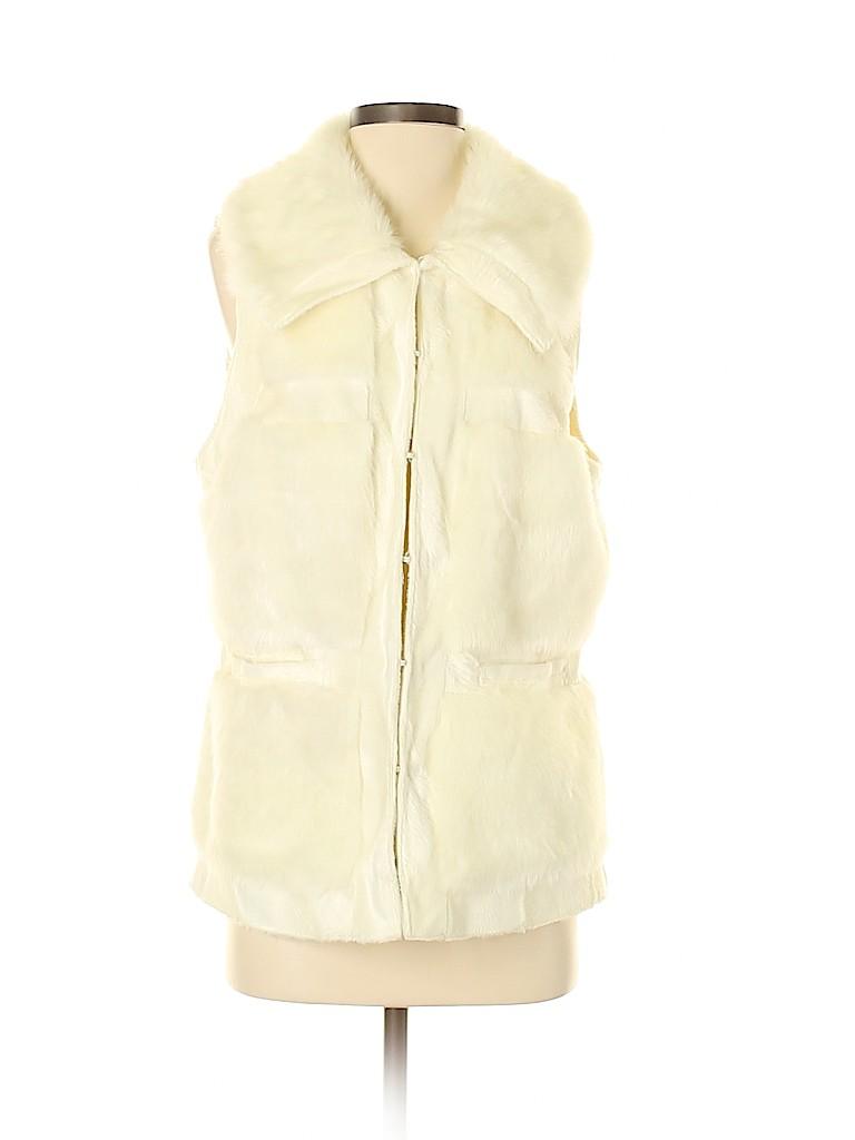 RLZ Women Faux Fur Vest Size M