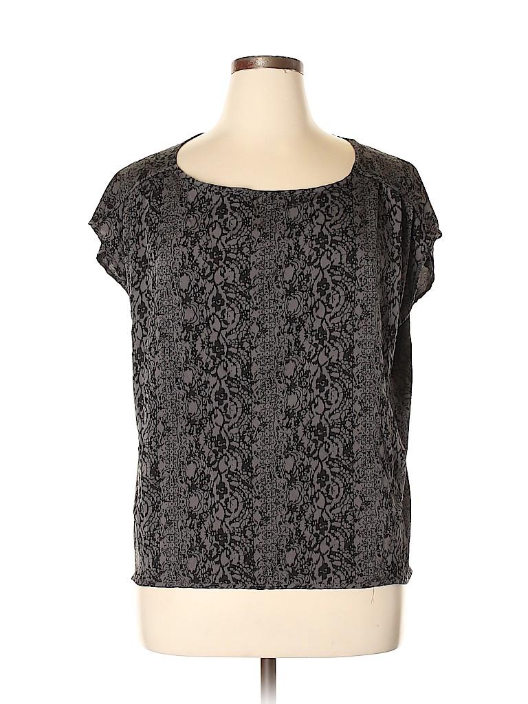 Converse Women Short Sleeve Blouse Size XL