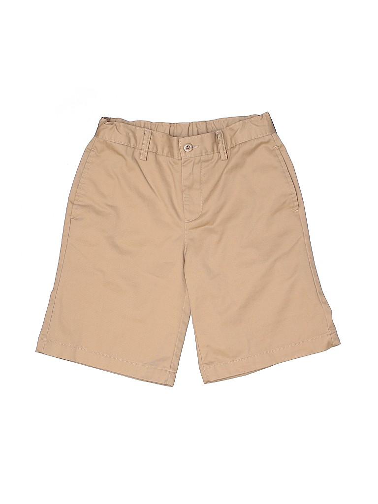 Lands' End Boys Khaki Shorts Size 12