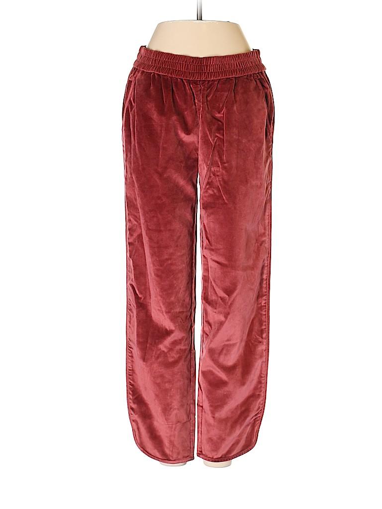 Madewell Women Velour Pants Size XS