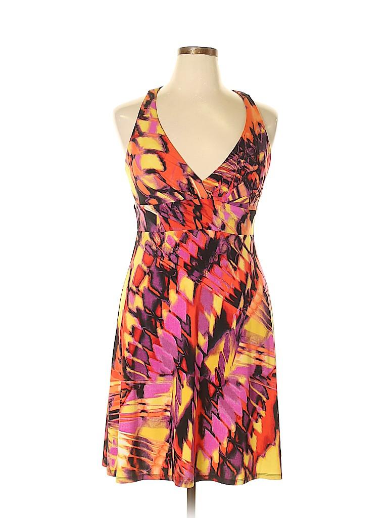 Bisou Bisou Women Casual Dress Size 14
