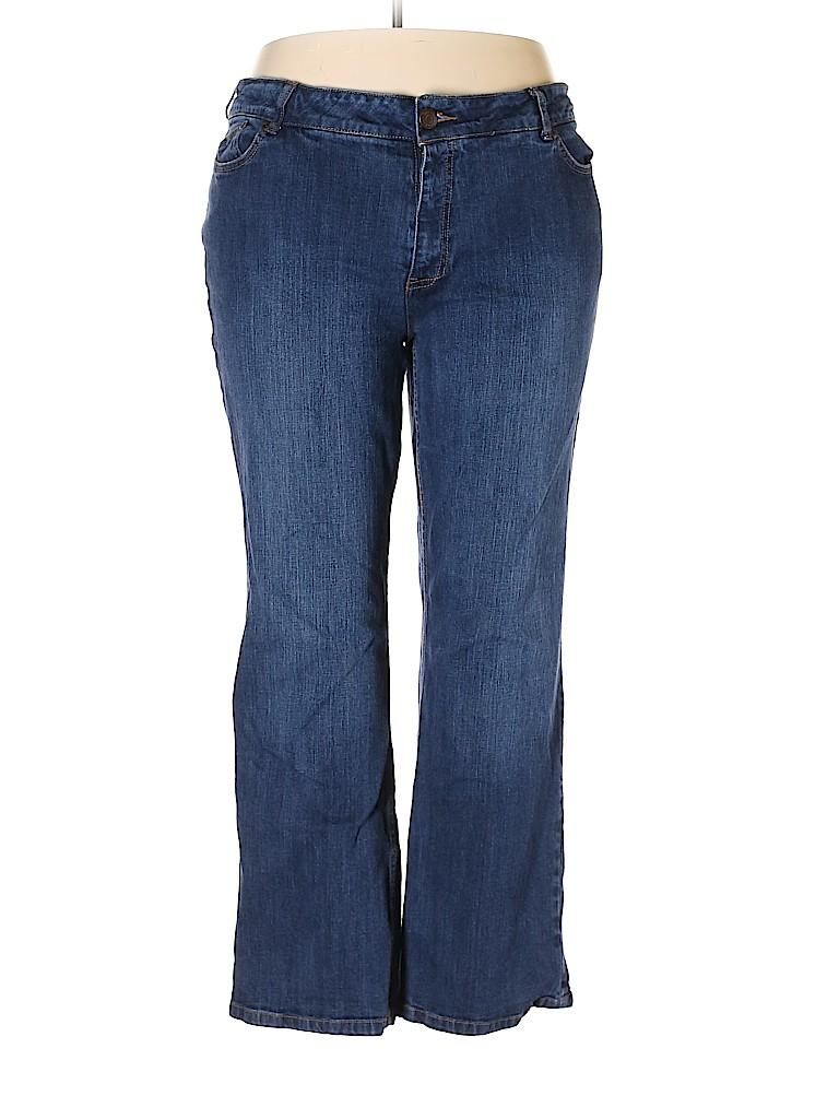 Zena Women Jeans Size 22 (Plus)
