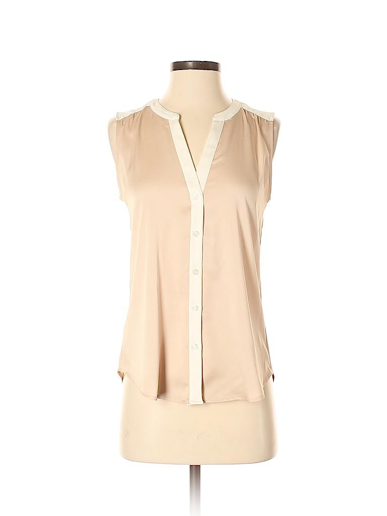 Ann Taylor Women Sleeveless Blouse Size XS