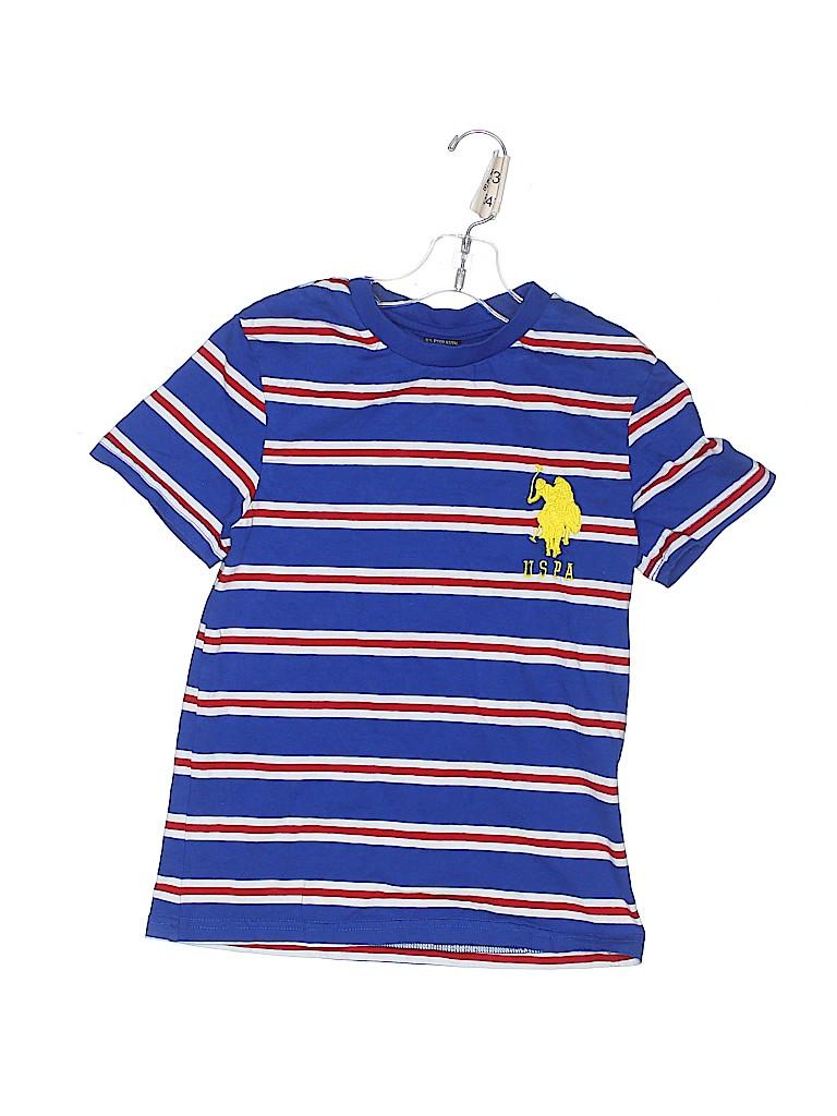 U.S. Polo Assn. Boys Short Sleeve T-Shirt Size S (Kids)