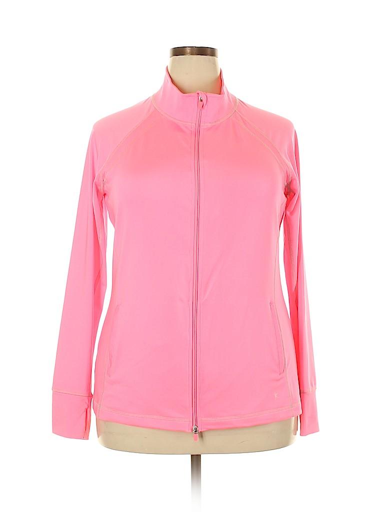 Danskin Now Women Track Jacket Size XXL