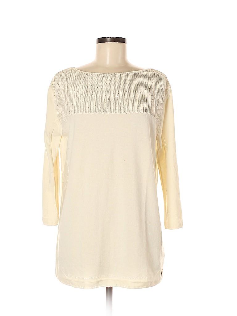 Escada Women Silk Pullover Sweater Size M