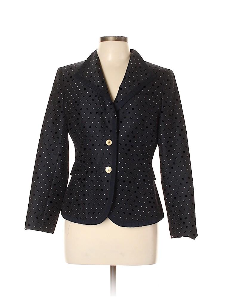 Anne Klein Women Wool Blazer Size 10 (Petite)