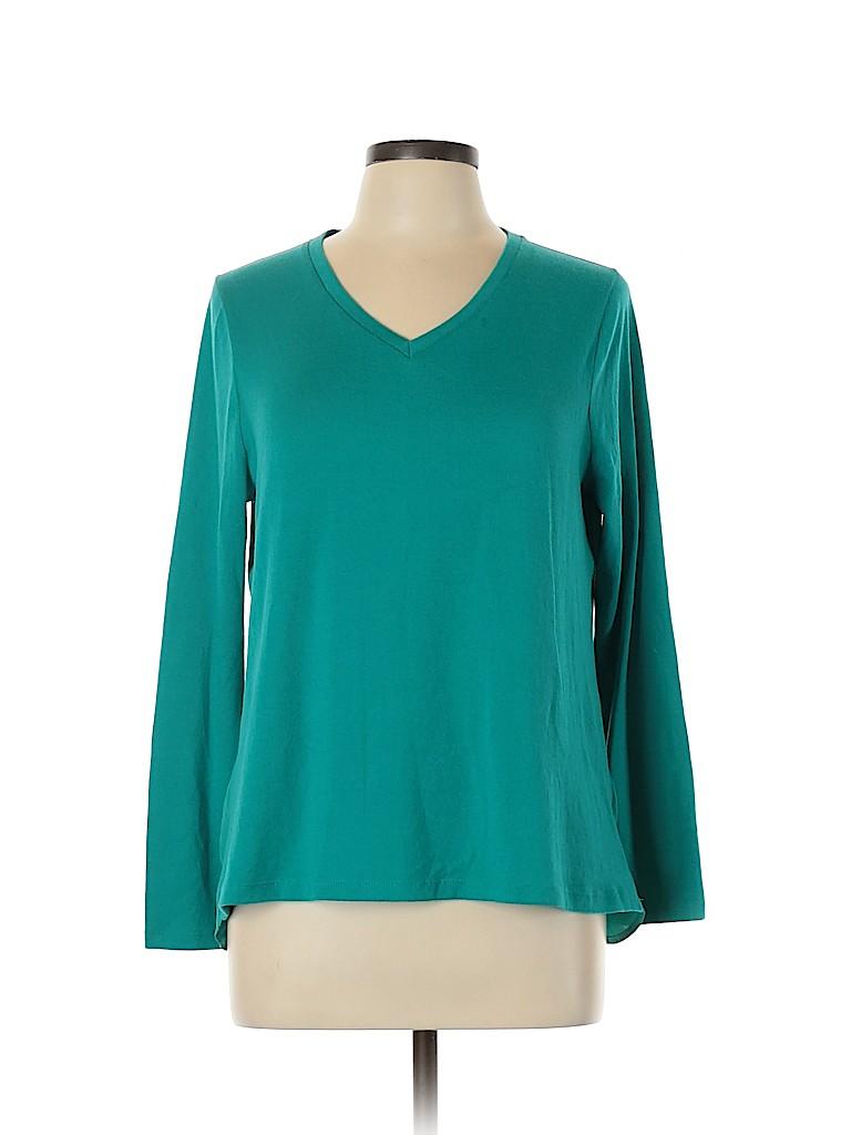 Talbots Women Pullover Sweater Size L (Petite)
