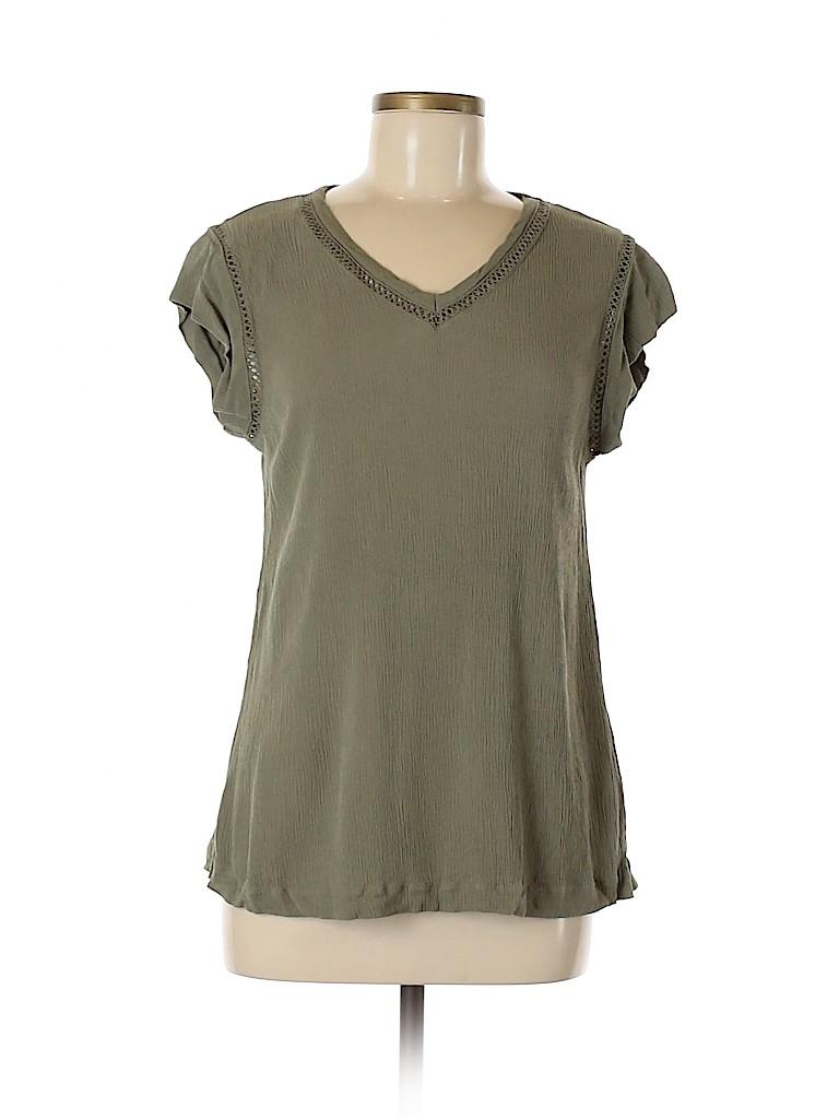 Buffalo by David Bitton Women Short Sleeve Blouse Size M
