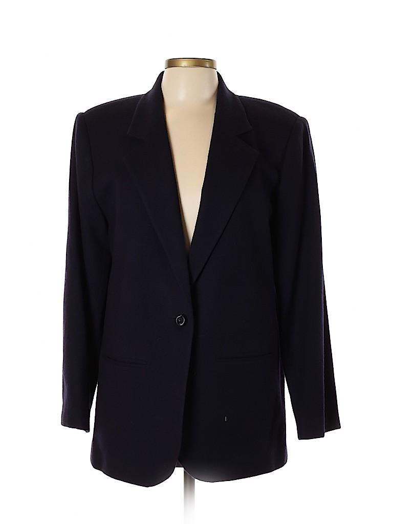 Sag Harbor Women Wool Blazer Size 12
