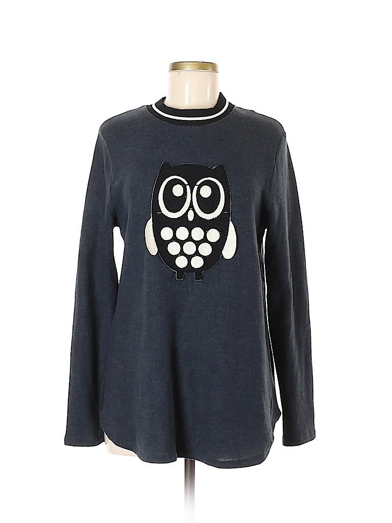 Le Lis Women Sweatshirt Size L