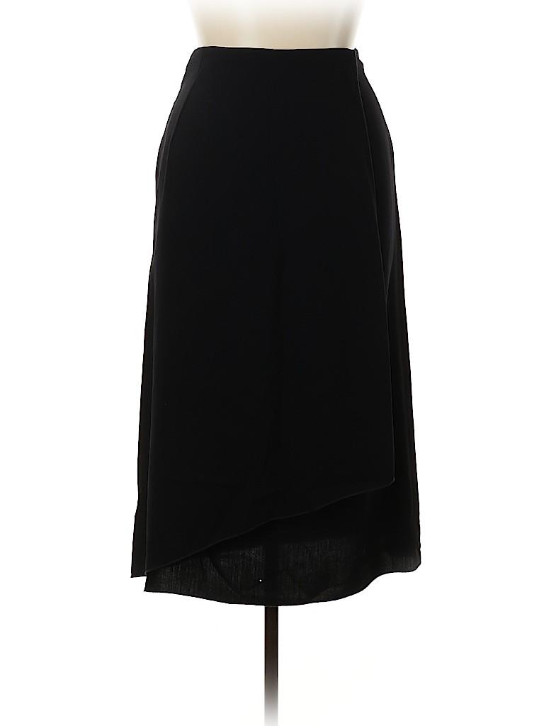 Giorgio Armani Women Wool Skirt Size 46 (IT)