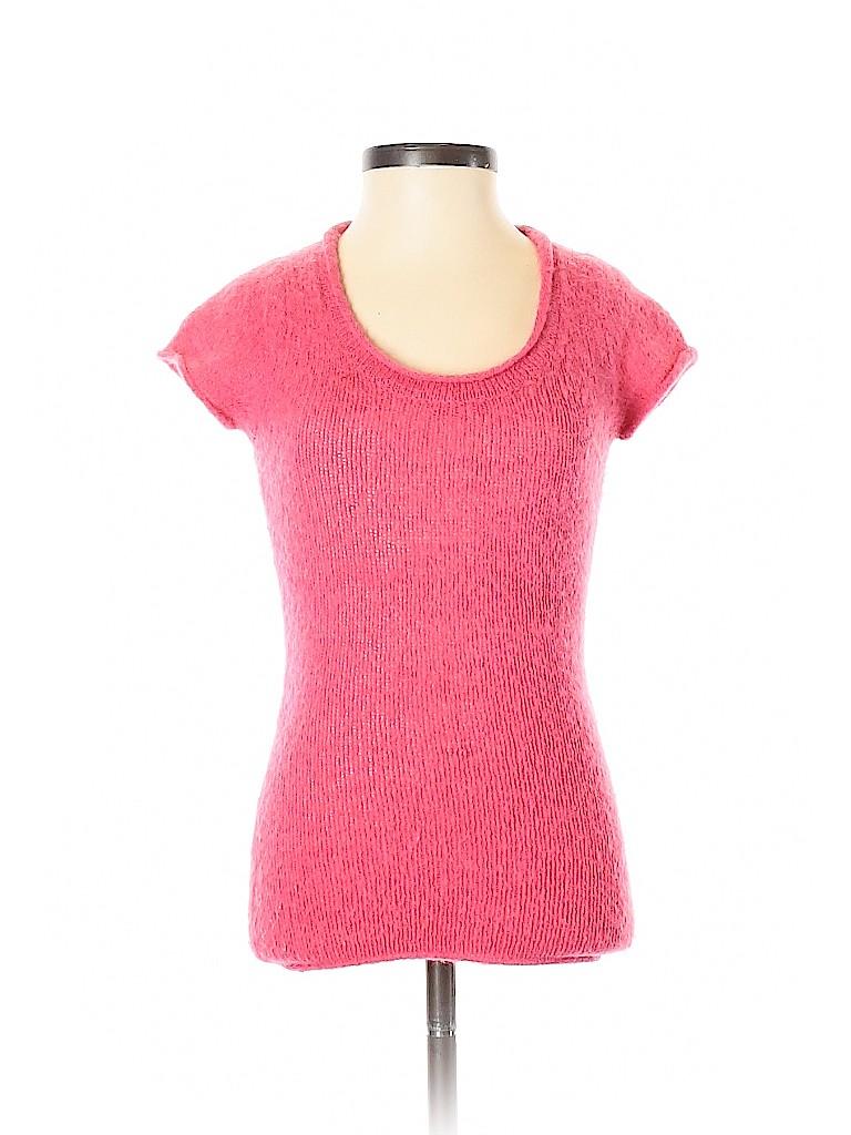 BCBGMAXAZRIA Women Short Sleeve Top Size S