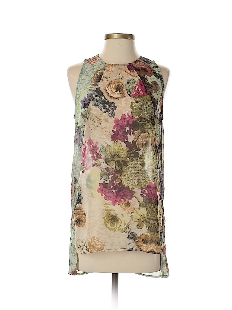 Sophie Rue Women Sleeveless Blouse Size XS