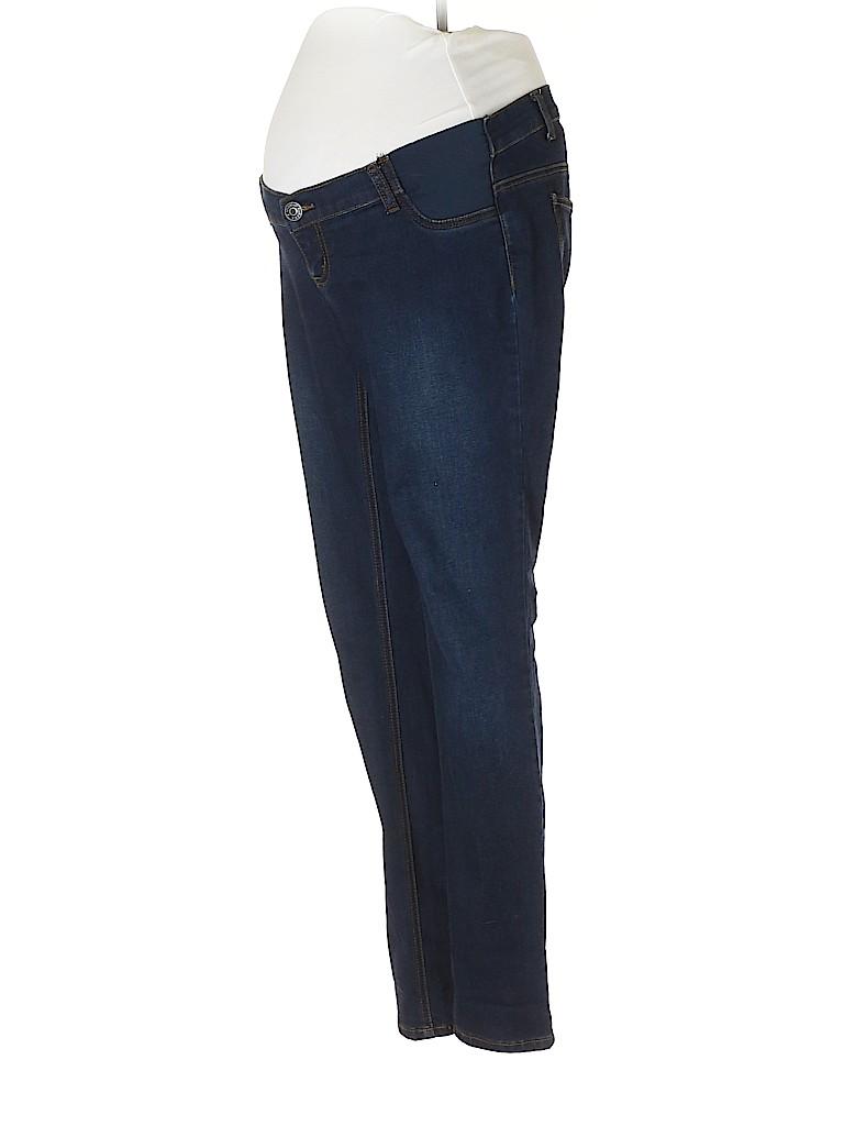 Indigo Blue Women Jeans Size M (Maternity)