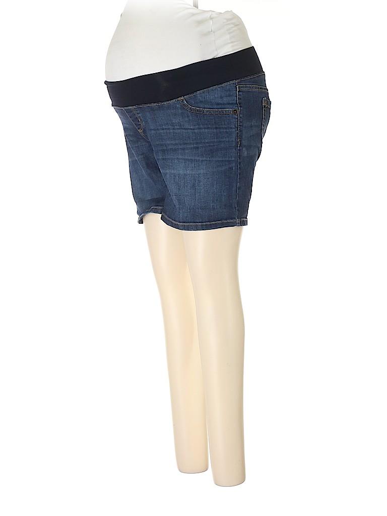 Liz Lange Maternity for Target Women Denim Shorts Size XS (Maternity)