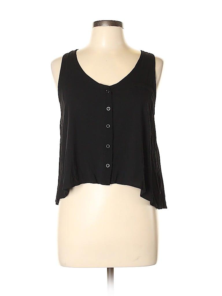 Sparkle & Fade Women Sleeveless Top Size L