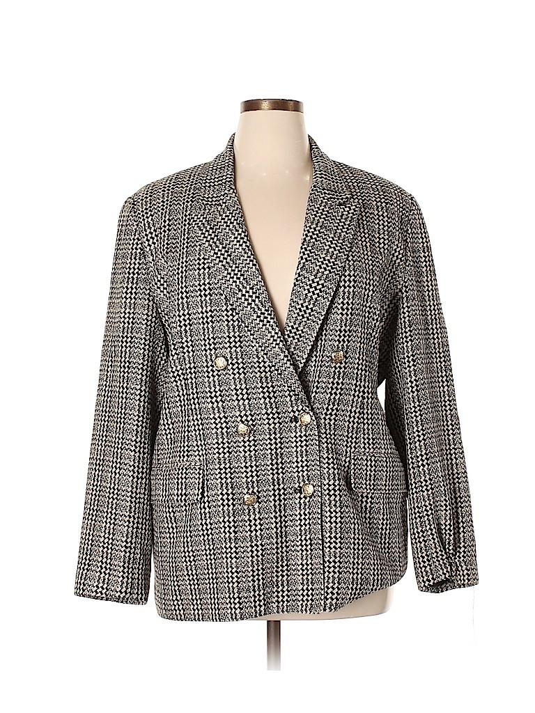 Doncaster Women Silk Blazer Size 16