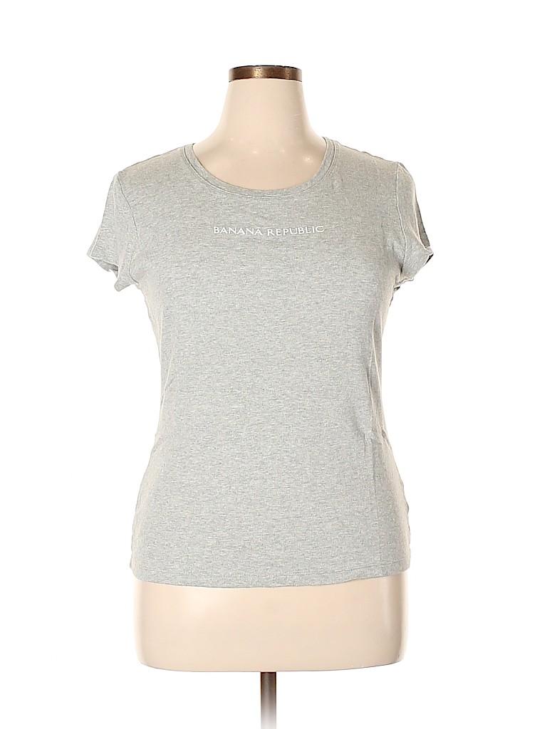 Banana Republic Factory Store Women Short Sleeve T-Shirt Size XL