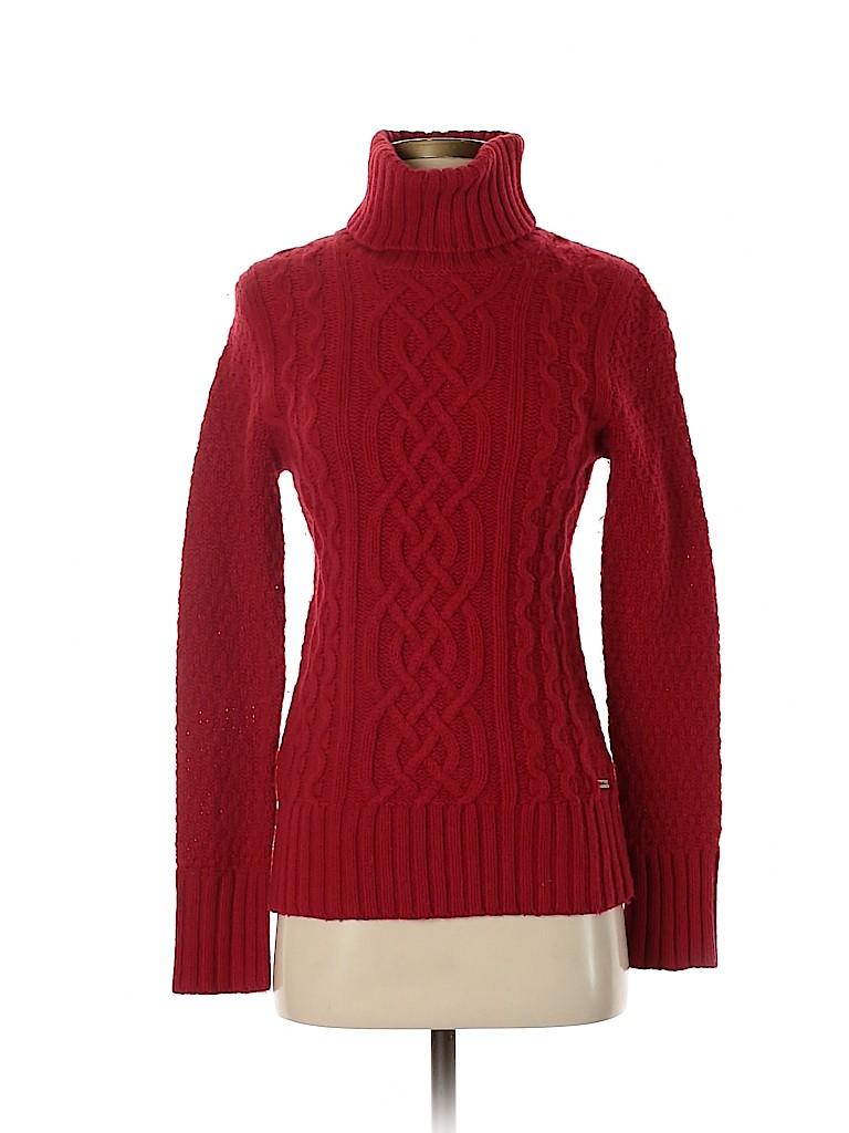 Eddie Bauer Women Turtleneck Sweater Size XS