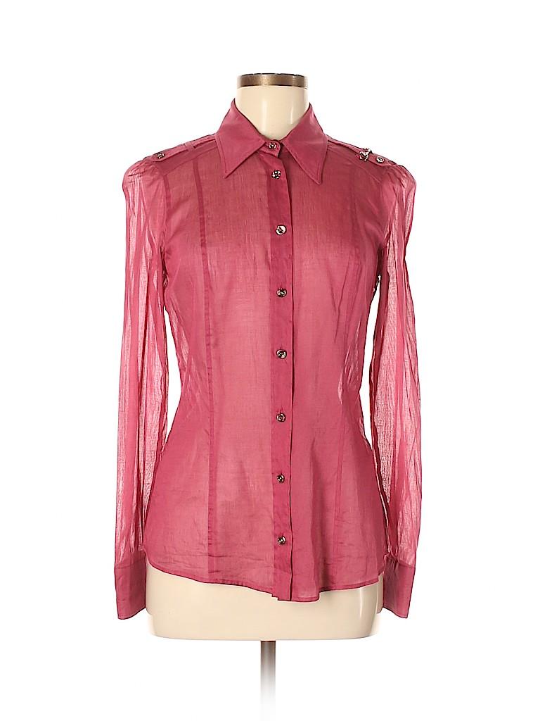 Gucci Women Long Sleeve Blouse Size 42 (IT)