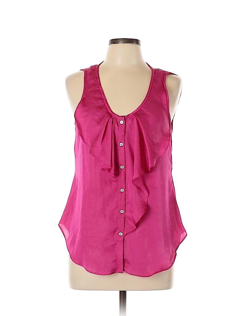 Yoana Baraschi Women Sleeveless Blouse Size M