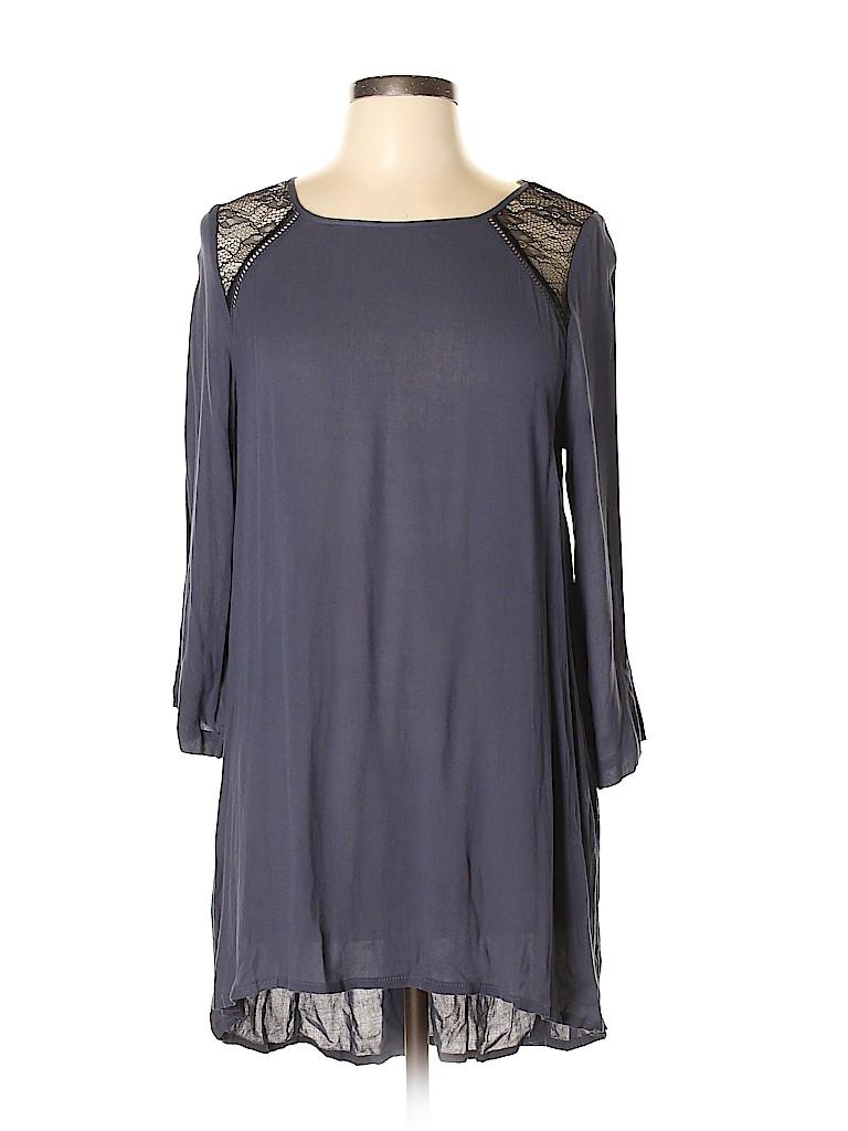 Chloe K Women Casual Dress Size L