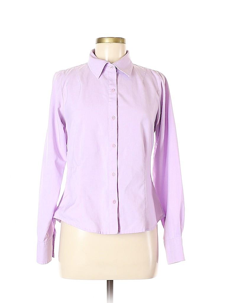 Royal Robbins Women Long Sleeve Button-Down Shirt Size M