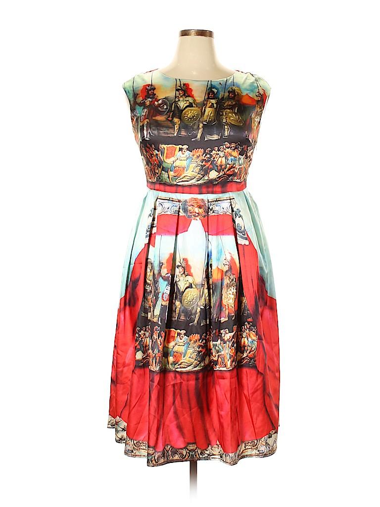 Dolce & Gabbana Women Cocktail Dress Size XXL