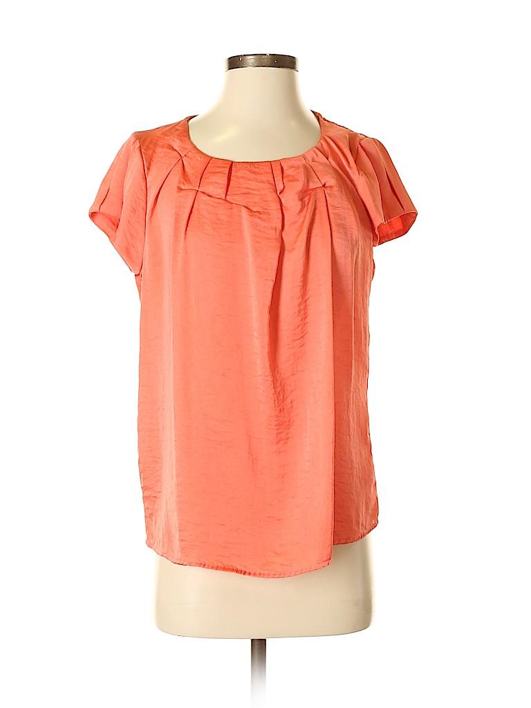 Sunny Leigh Women Short Sleeve Blouse Size S