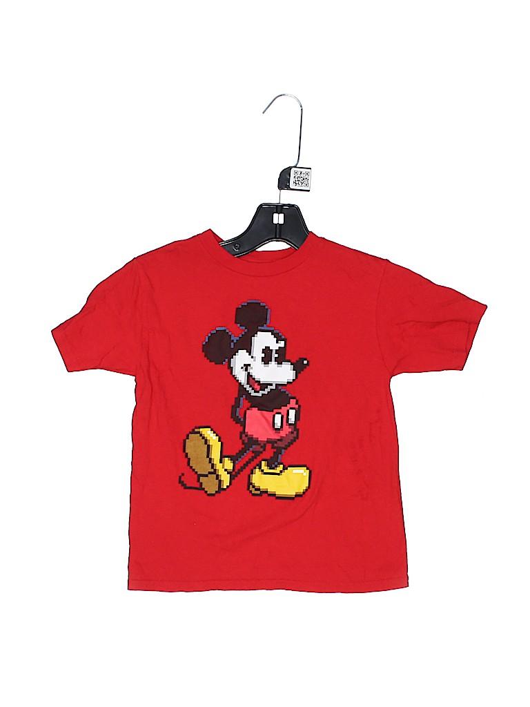 Disney Boys Short Sleeve T-Shirt Size 4 - 5
