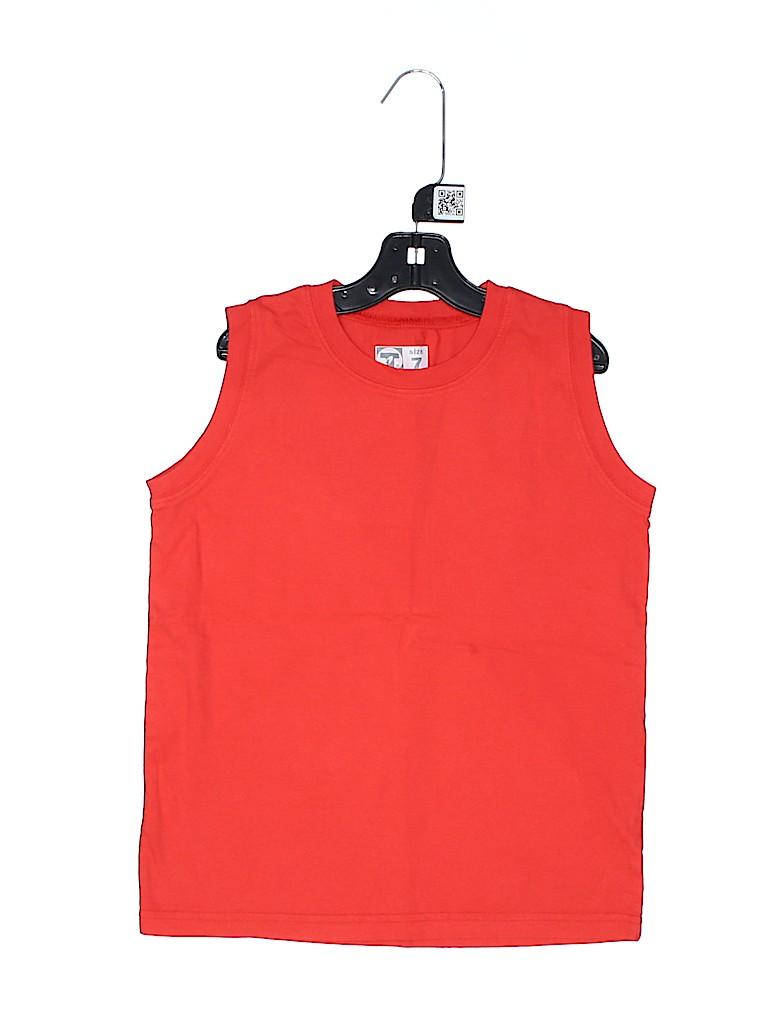 LT apparel Boys Sleeveless T-Shirt Size 7