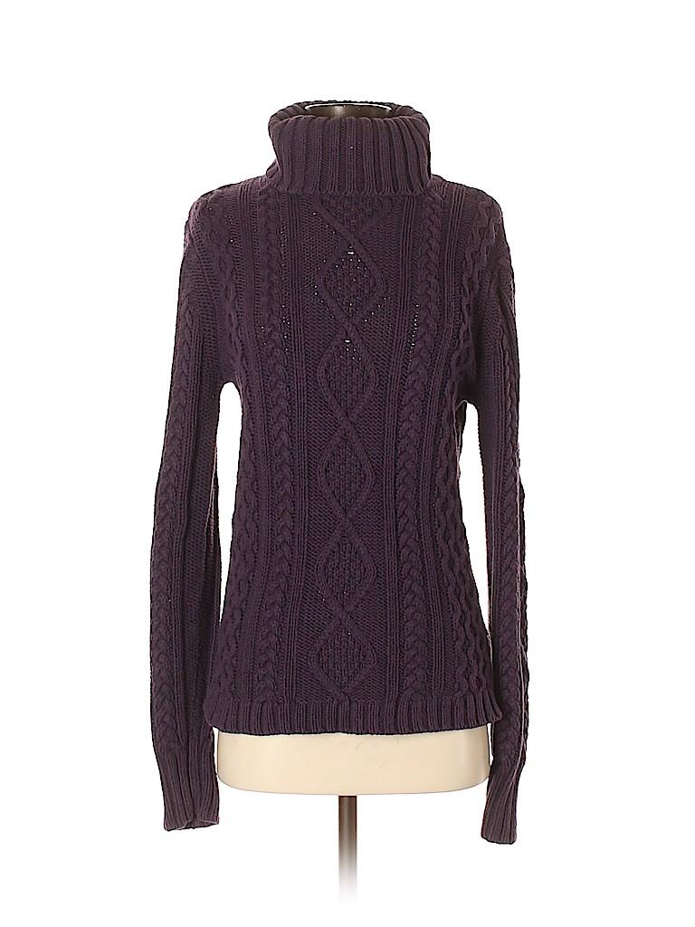 Eddie Bauer Women Turtleneck Sweater Size S