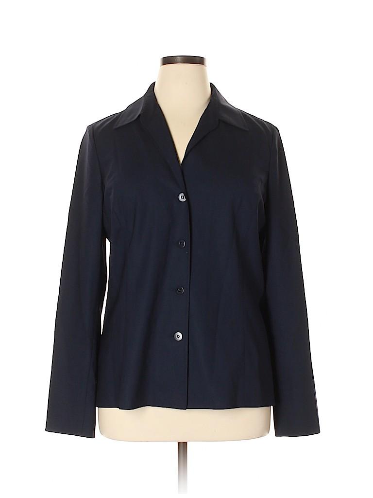 Ellen Tracy Women Long Sleeve Blouse Size 16