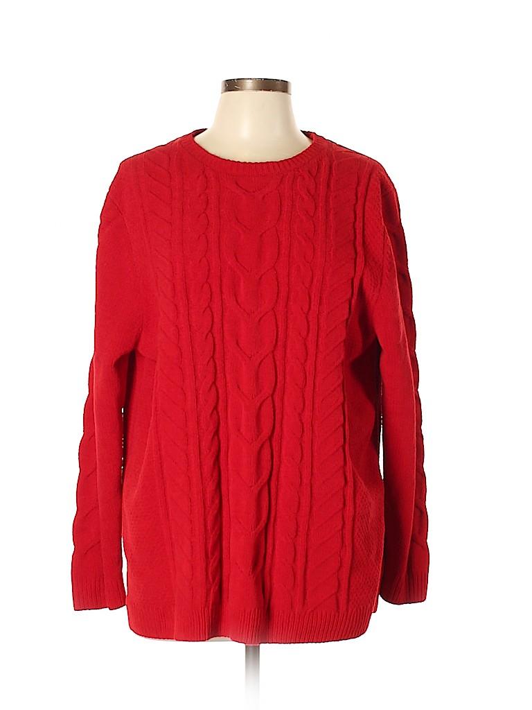 J.jill Women Pullover Sweater Size XL