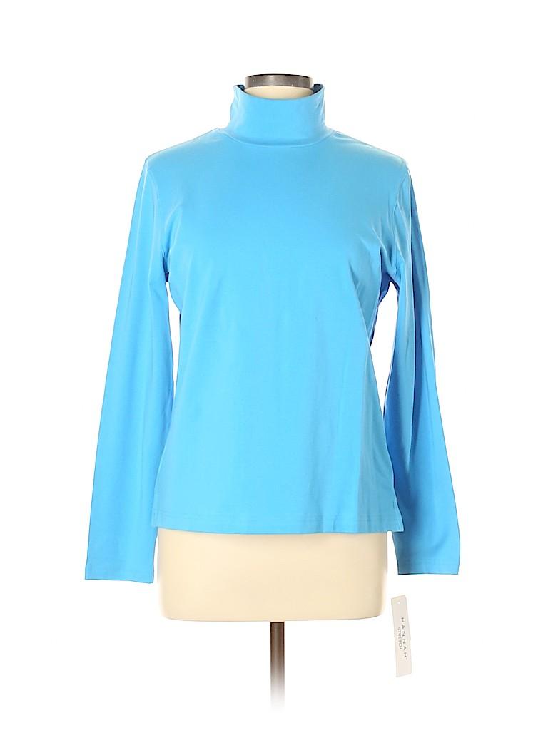 Hannah Women Long Sleeve Turtleneck Size L