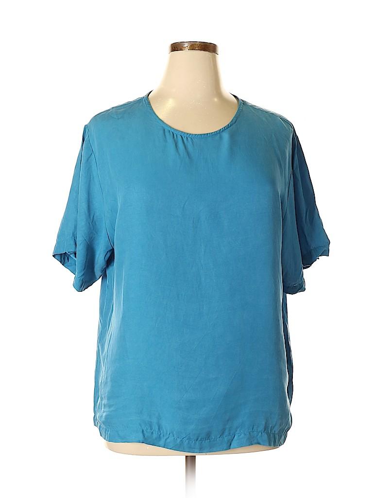 Karen Kane Women Short Sleeve Blouse Size 16