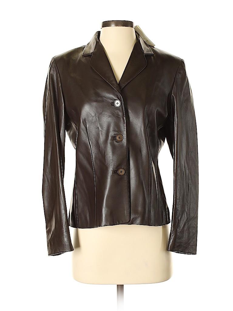 Garfield & Marks Women Leather Jacket Size 6